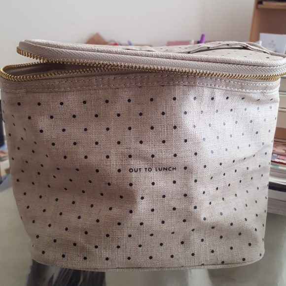 Kate Spade lunch tote bag